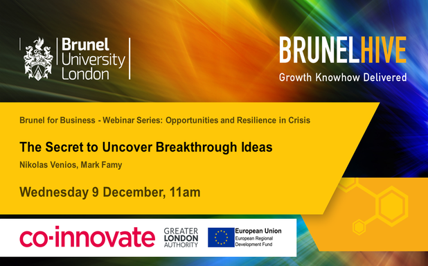 image of Brunel for Business - The Secret to Uncover Breakthrough Ideas