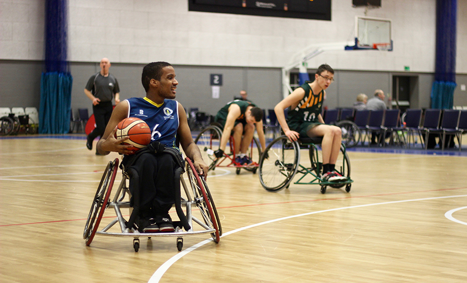 image of Wheelchair basketball team takes Nationals by storm