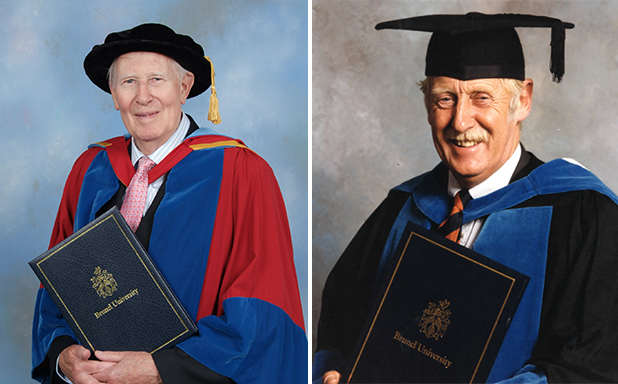 image of Brunel remembers two great honorary graduates