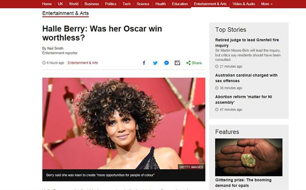 image of Did Halle Berry's Oscar win really mean nothing? – Brunel's Sarita Malik explains