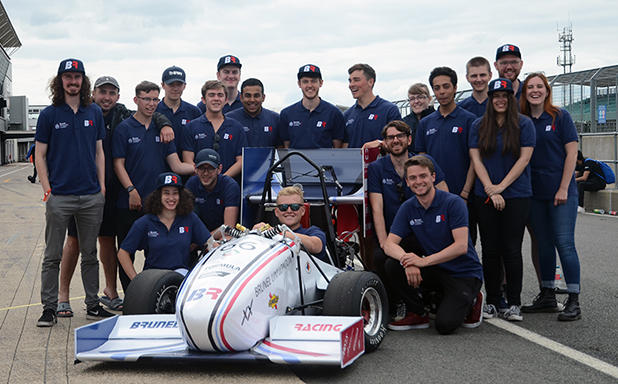 image of Brunel Racing's petrol car storms to 15th whilst electric team make debut