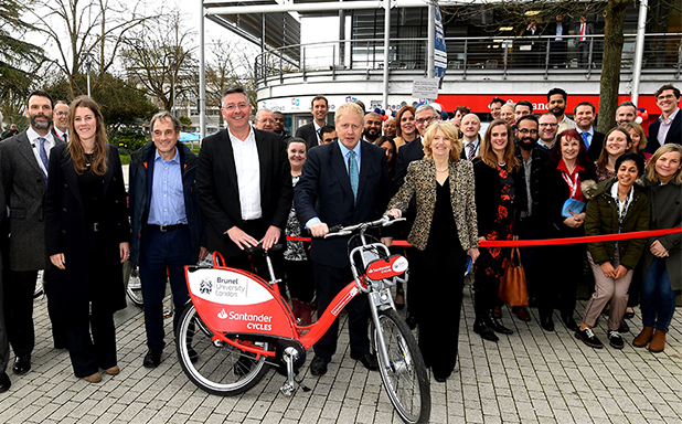 image of 'A great thing for Uxbridge': Brunel Bikes get Hillingdon pedalling