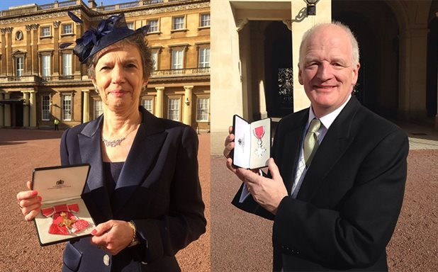 image of Brunel staff and alumni honoured at Buckingham Palace