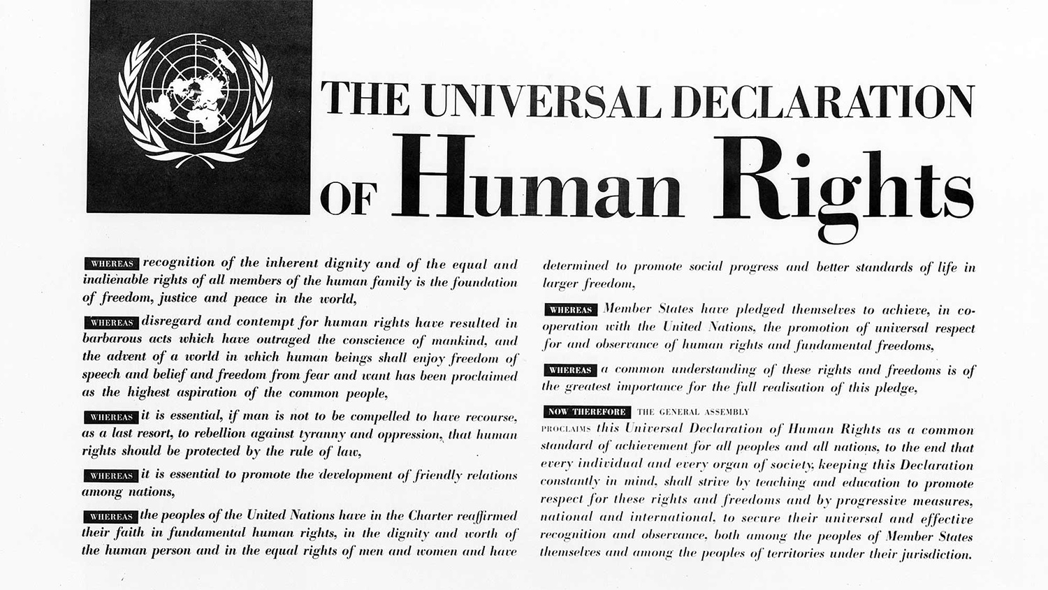 Declaration Human Rights IN1