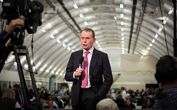 image of World's media turn gaze on Brunel for historic election night