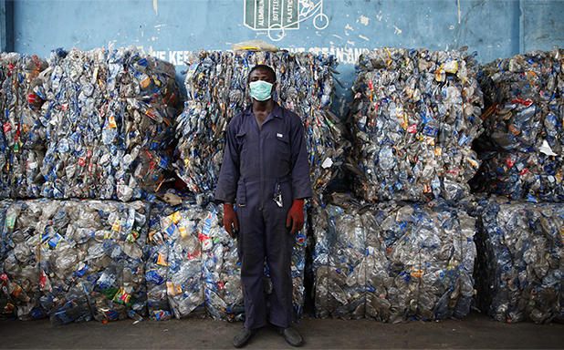image of Why the pandemic could slash the amount of plastic waste we recycle
