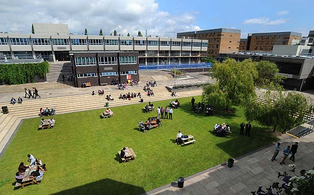 image of Brunel campus recognised as one of the UK's very best green spaces