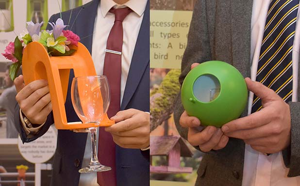 image of Brunel students clinch first and second in Design Innovation in Plastics competition