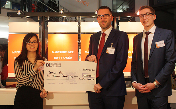 image of Design student scoops £10,000 prize at inaugural Heatrae Sadia Award