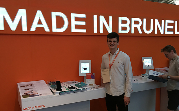 image of Ally scoops Stannah Award at New Designers