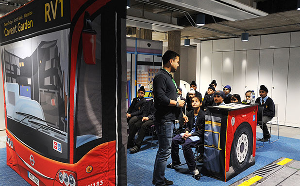 image of Citizens of the future gain life skills at Brunel