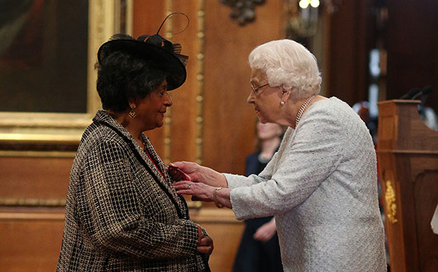 image of Honour at Windsor Castle for Professor of Education
