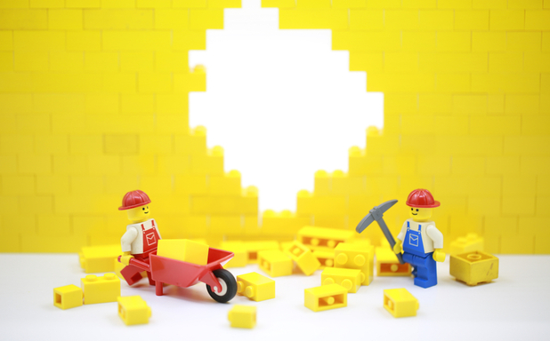 image of Engineers to 3D print Lego-style bricks from recycled building waste
