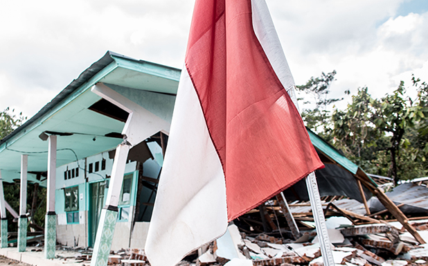 image of Placement students suspend programme to join Lombok earthquake relief effort