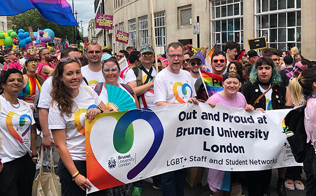 image of Marching in Pride's the icing on the cake