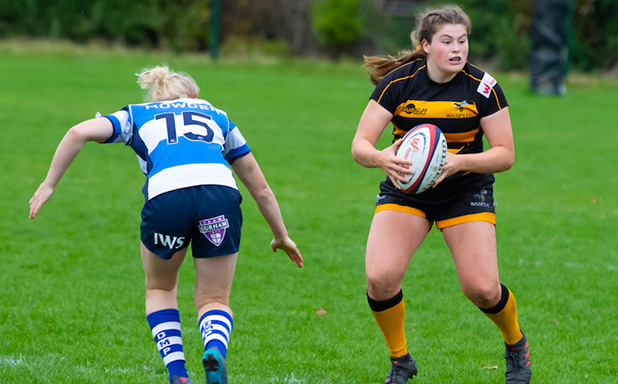 image of Maud makes her mark in England Women U20s