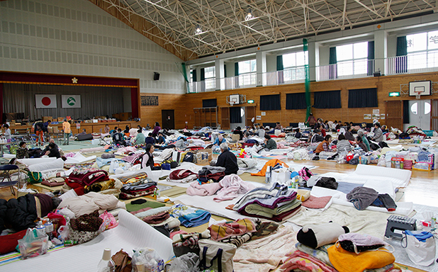 image of Japan's experience with earthquakes has lessons for nations learning to live with floods