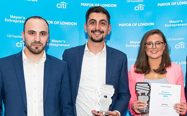 image of Double win for Brunel at Mayor of London's competition