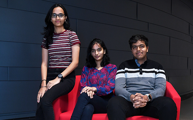image of 'Memories to cherish': Indian triplets start their Brunel adventure