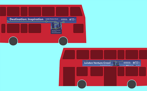 image of Destination: Inspiration – Students board the entrepreneurial bus