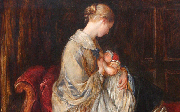 image of Breast or bottle feeding: the debate has its origins in Victorian times