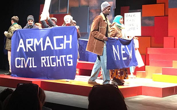 image of Civil rights play puts arts and activism hand in hand