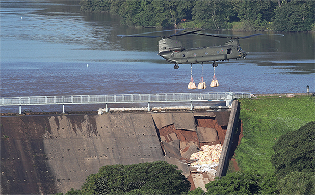 image of Whaley Bridge dam collapse is a wake-up call: concrete infrastructure will not last forever without care