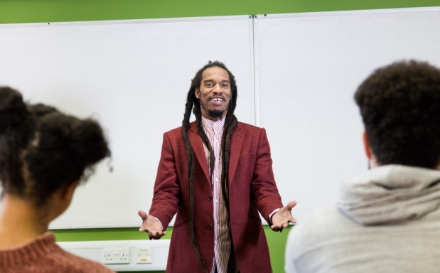image of BAFTA-nominated Prof Benjamin Zephaniah hails Life & Rhymes' Brunel connection