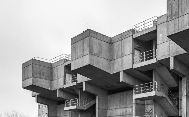 image of Scary monster to Instagram icon: lecture block stars in Brutalist love-in