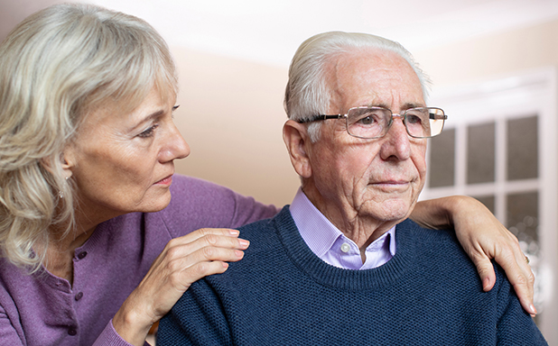 image of Dementia patients feel it if carer is stressed