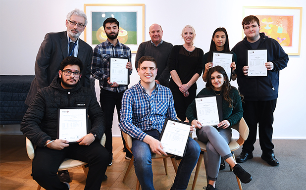 image of First politics and history students finish new journalism course