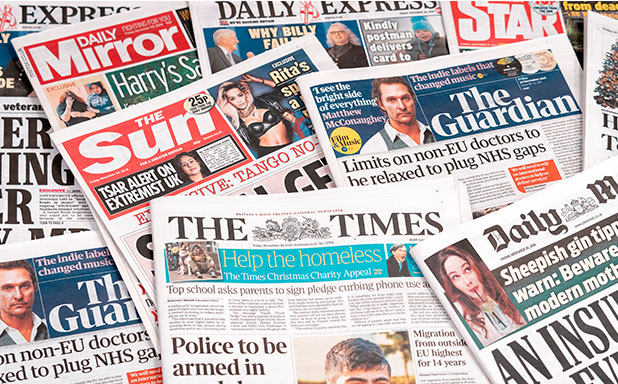 image of Newspapers key to spreading #MeToo message in Britain
