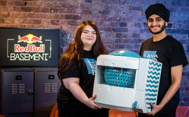 image of Brunel duo win Red Bull Basement with eco washing machine