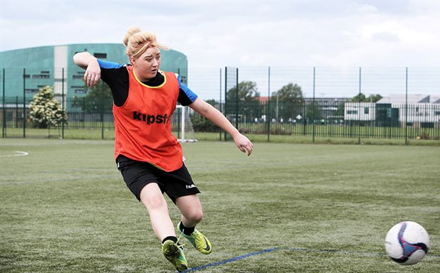 image of Football and dance help deprived young people get jobs