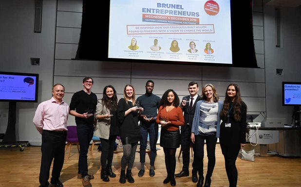 image of Brunel Entrepreneurs 2019