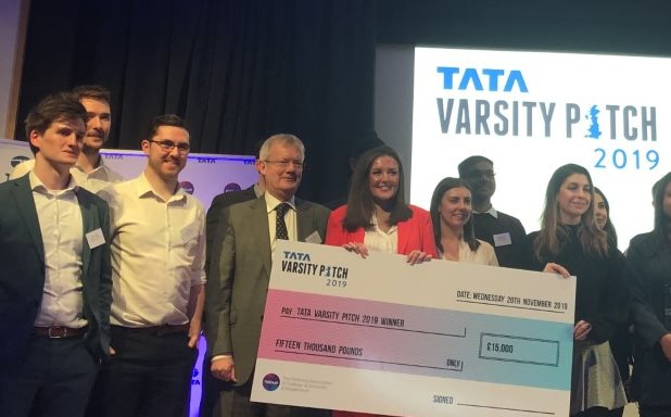 image of Brunel Alumna Lauren Bell WINS the Tata Varsity Pitch 2019 with Cosi Care!