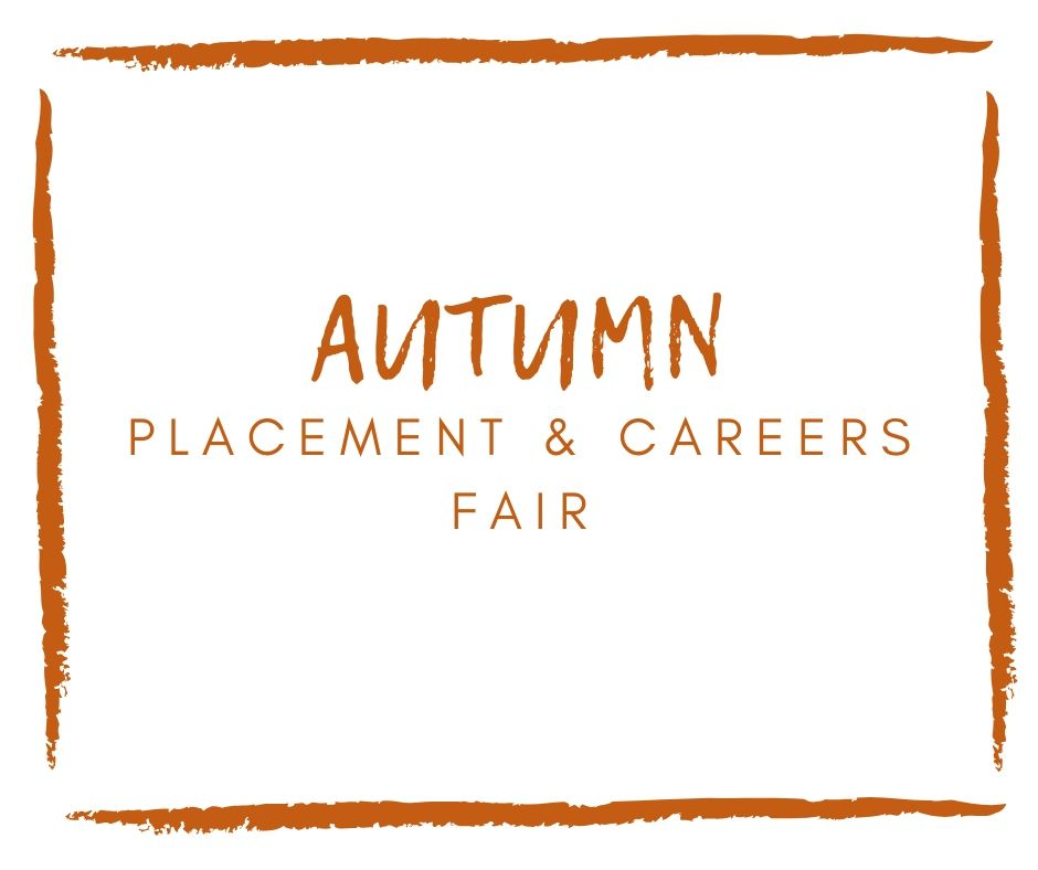 image of Autumn Placement & Careers Fair