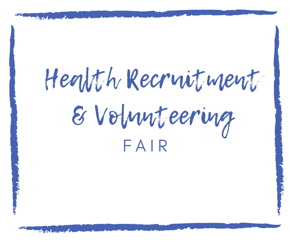 image of Health Recruitment & Volunteering Fair