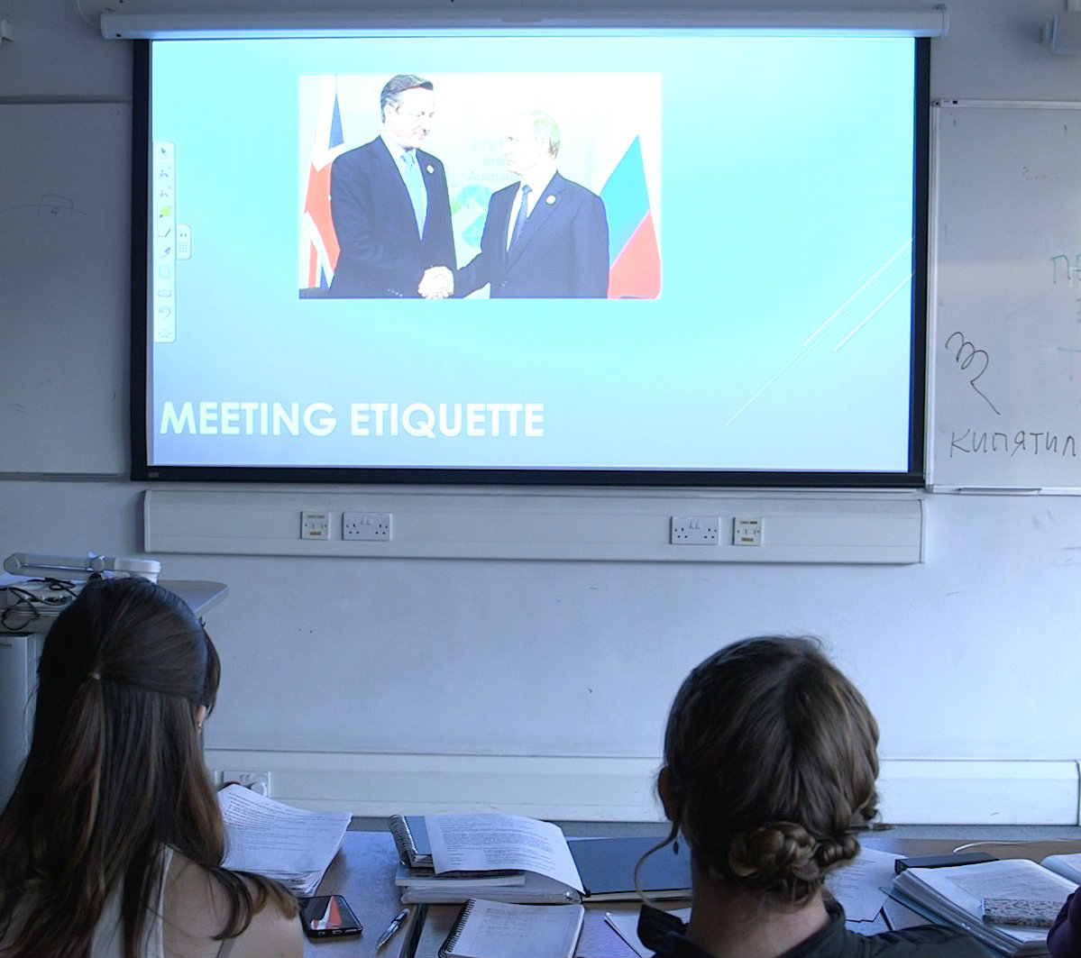 Russian Business Etiquette - 2ML