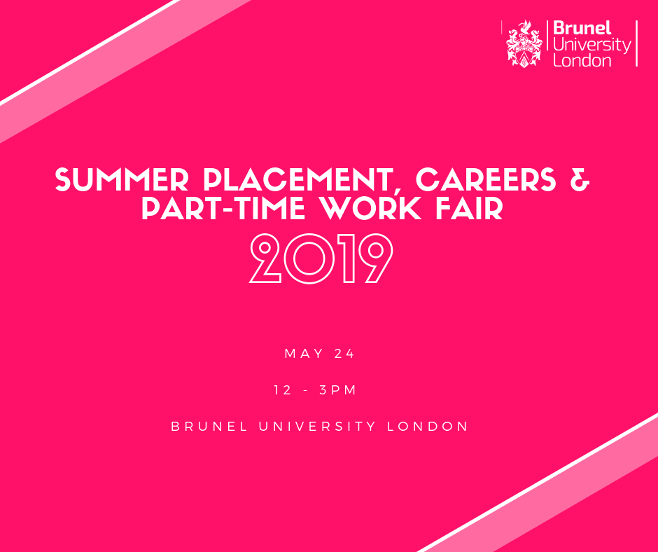 image of Summer Placement, Careers and Part-time Work Fair