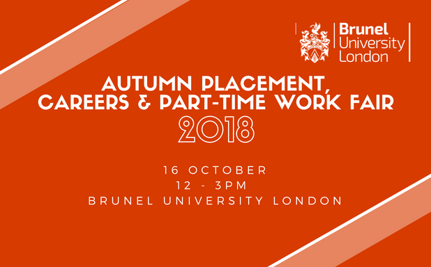 autumn placement,careers & part-time work fair 2