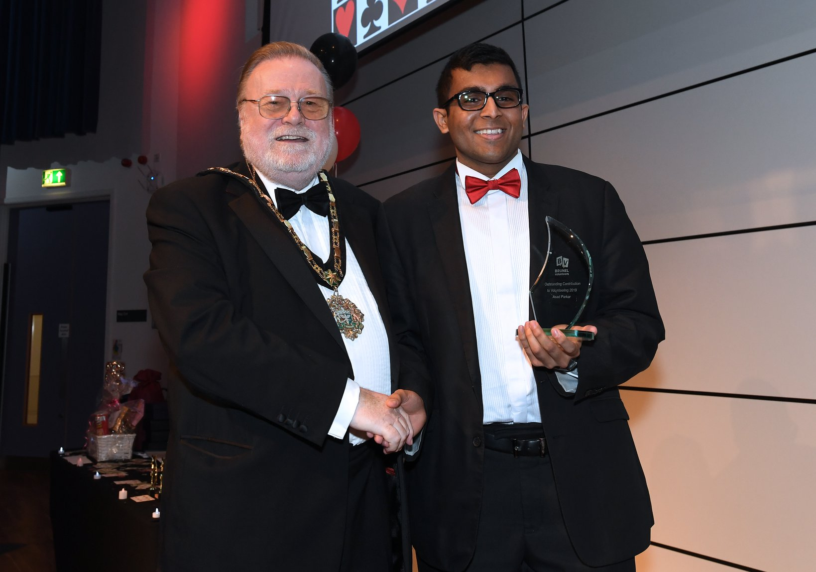 Asad and The MayorBrunel Volunteers Awards 2019 6