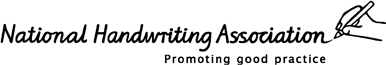 National Handwriting Association Logo