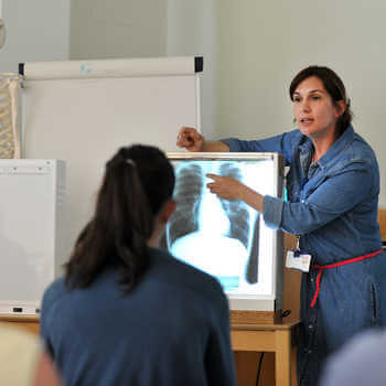 physiotherapy-lecturer-explaining-x-ray-at-brunel-university-london
