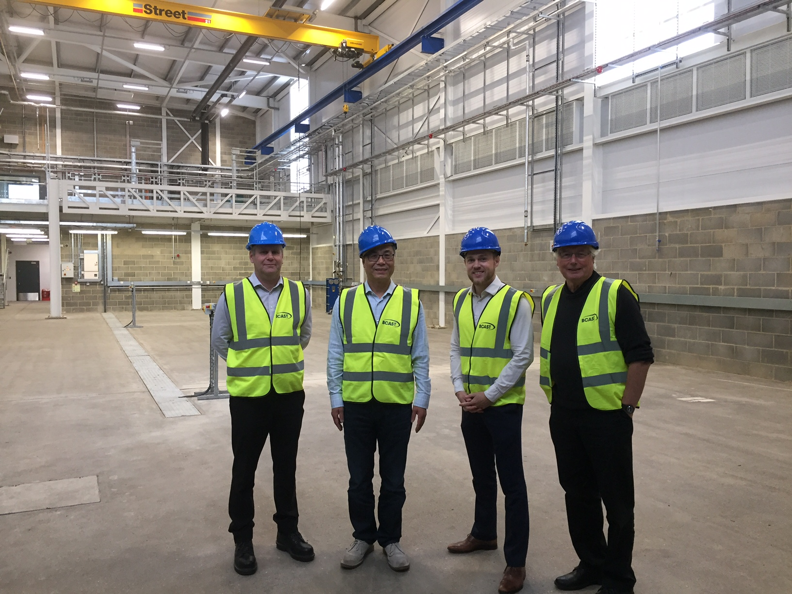 image of Advanced Metal Processing Centre nears completion