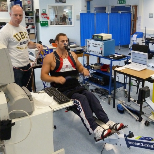 Testing of Tom Haggar Gold in Paralympics London