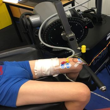 Muscle response to exercise in cerebral palsy
