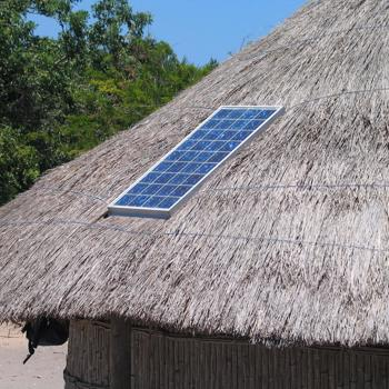 Study of a solar powered hydrogen production system for domestic applications