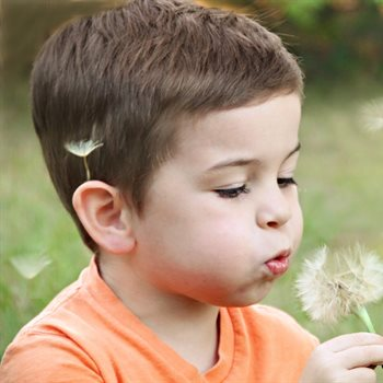 Breathing muscle strength in healthy children