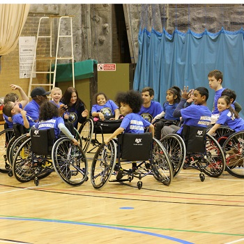 An assessment and outcome measure for children's wheelchair basketball